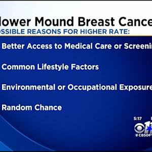 Study: Female Breast Cancer Rates Higher In Flower Mound
