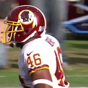 Washington Redskins running back Alfred Morris 1-yard touchdown run