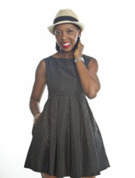 Fashion stylist Marianne Ilunga of Stylissima Fashion Consulting