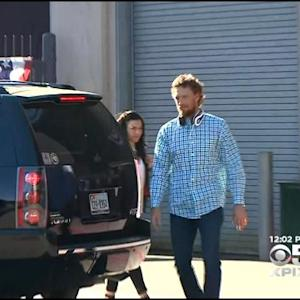Giants Depart AT&T Park, SFO For World Series Game 6 In Kansas City