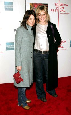 Sabrina Lloyd and Amy Carlson All We Are Saying premiere - Tribeca Film Festival April 20, 2005 - New York, NY