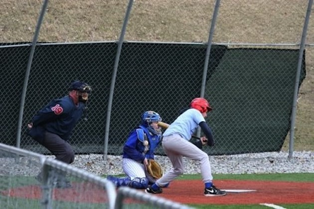 The Union Catholic baseball team in action — BeRecruited