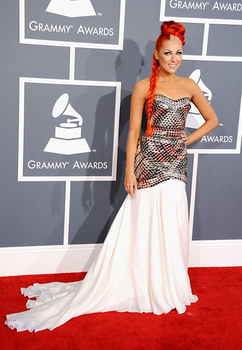 The 55th Annual GRAMMY Awards - Arrivals: Bonnie McKee