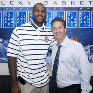 Is John Calipari mulling NBA return to coach LeBron James?