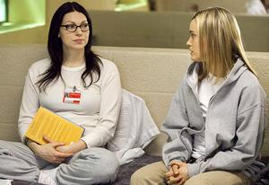 Laura Prepon, Taylor Schilling | Photo Credits: Netflix