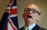 Australian Foreign Minister Bob Carr (pictured in May) on Sunday said there was &quot;no hint&quot; of a plan to extradite WikiLeaks founder Julian Assange to the United States should he be sent to Sweden