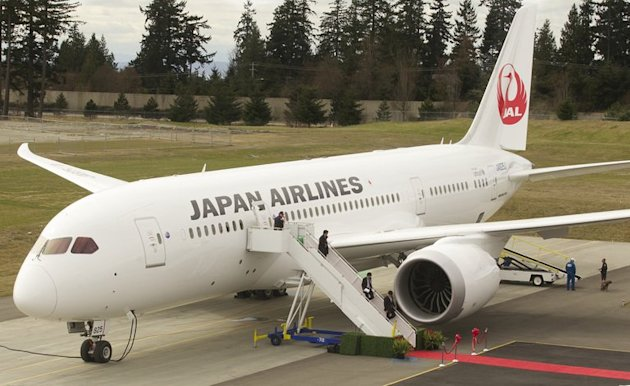 Delivery of first 787 to Japan Airlines March 26, 2012 at the Paine Field in Everett, Washington