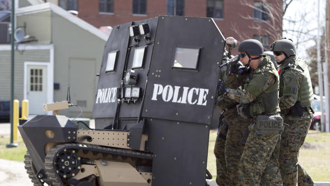 'SWAT robots' soon to protect US first responders