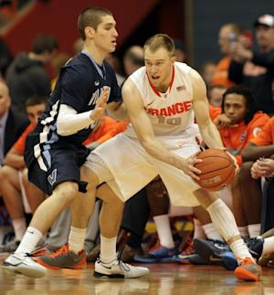 No. 2 Syracuse rallies past No. 8 Villanova 78-62