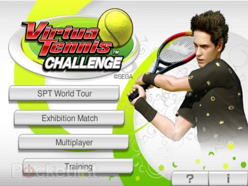 APP OF THE DAY: Virtua Tennis Challenge review (iPad / iPhone). Apps, App of the day, iPhone apps, iPad apps, Gaming, Sega, Sports Fitness 0