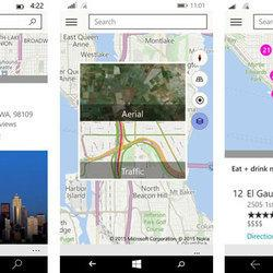 Windows 10's phone maps help you find things to do