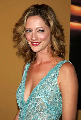 Judy Greer at the NY premiere of Touchstone's The Village