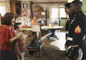 Exclusive The Middle First Look: The Hecks Give Thanks With America's Heroes — 'Two of 'Em!'
