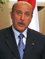<p>Egypt's former chief of intelligence Omar Suleiman, who died in the United States. Thousands of Egyptians attended the military funeral of ousted strongman Hosni Mubarak's longtime right-hand man Suleiman, who died of a heart attack after an abortive presidential bid.</p>