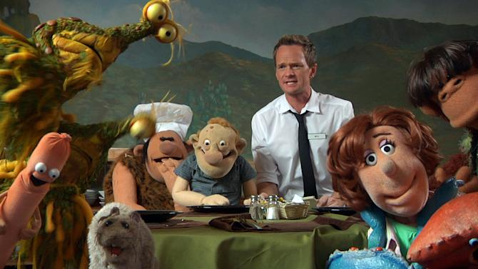 "This undated image released by the Nerdist Channel shows actor Neil Patrick Harris in a scene from ""Puppet Dreams."" Nerdist began as a little weekly comedy podcast hosted by Chris Hardwick and launched in 2010. It has grown to encompass a network of 21 podcasts, 27 YouTube shows and a growing TV presence. (AP Photo/Nerdist Channel)"