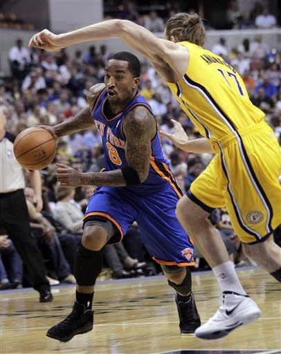 Granger leads Pacers past Knicks