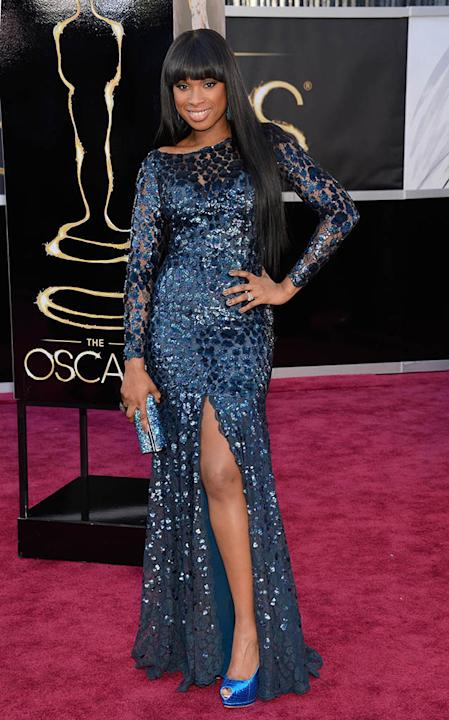 85th Annual Academy Awards - People Magazine Arrivals: Jennifer Hudson