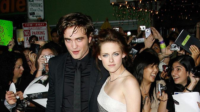 Twilight LA Premiere 2008 Robert Pattinson Kristen Stewart