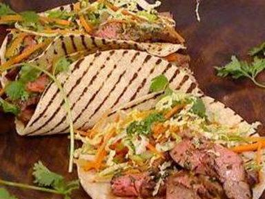 Cook up Curtis Stone's Korean Steak Tacos