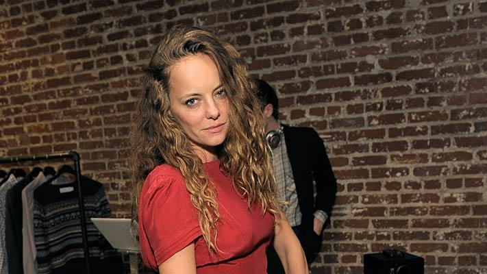 Bijou Phillips Warby Parker Launch