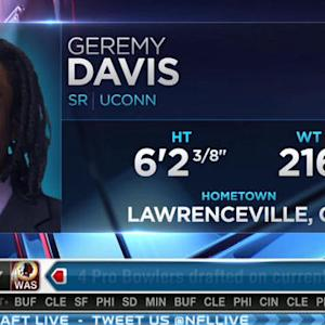 New York Giants pick wide receiver Geremy Davis No. 186 in 2015 NFL Draft