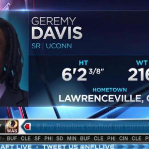 New York Giants pick wide receiver Geremy Davis No. 186 in 2015 NFL Draft