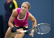 Women's doubles World No. 1 Sara Errani, pictured on September 5, is bidding for a rare two-title run at the US Open, advancing to the women's doubles final Thursday after having booked a berth in the singles semi-finals