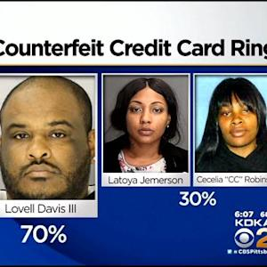 A.G.'s Office Charges 3 In Counterfeit Credit Card Ring