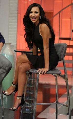 Naya Rivera stops by Access Hollywood Live on September 17, 2013 -- Access Hollywood