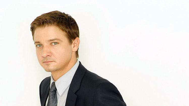 "Jeremy Renner as Detective Jason Walsh in ""The Unusuals."""