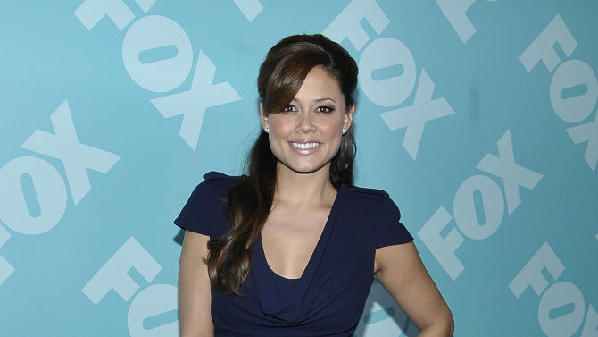 Actress Vanessa Lachey arrives at the 2013 FOX Programming Presentation Post Party at Wollman Rink in Central Park on Monday, May 13, 2013 in New York, New York. (Photo by Andrew Marks/Invision for FOX/AP Images)