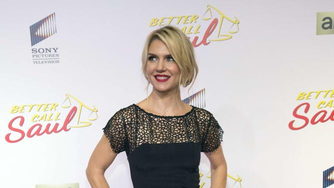 "Cast member Seehorn poses at the premiere of the television series ""Better Call Saul"" at the Regal Cinemas L.A. LIVE in Los Angeles"