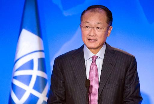 (Arquivo) O presidente do Banco Mundial, Jim Yong Kim