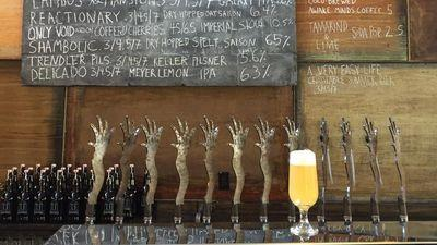 Tired Hands Fermentaria Is a Two-Bell Reason to Visit Ardmore, Says Craig LaBan