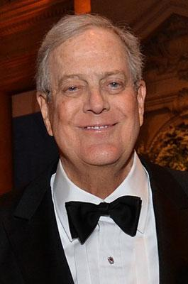 <b>5. David Koch, New York City, $31 billion</b>