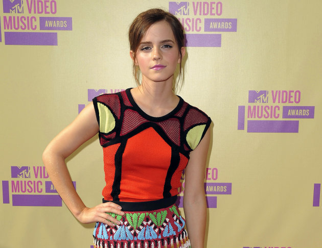 Emma Watson named most 'dangerous' cyber celebrity