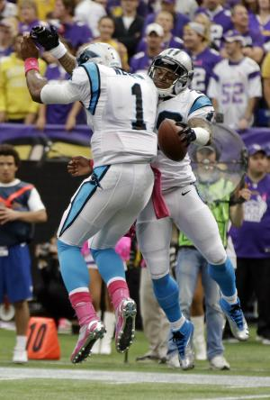 5 things to note after Panthers defeat Vikings