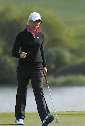Pettersen maintains lead at LPGA event in Taiwan