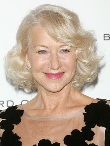 Chin-length: Helen Mirren