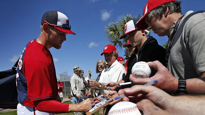 Nationals not rushing Strasburg's spring debut