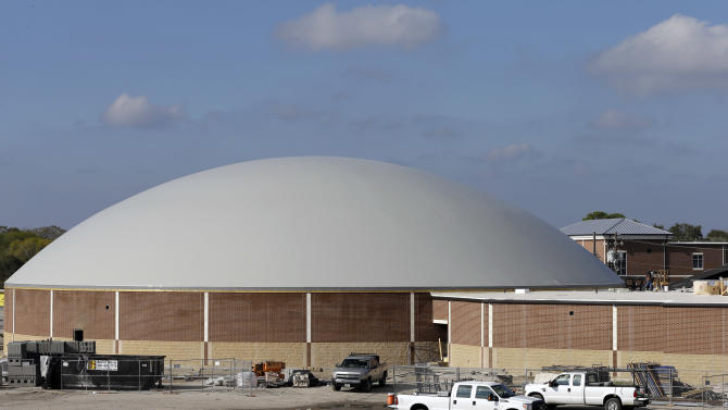 Texas builds 'hurricane domes' for double-duty