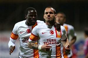 Sneijder ready to see out career at Galatasaray