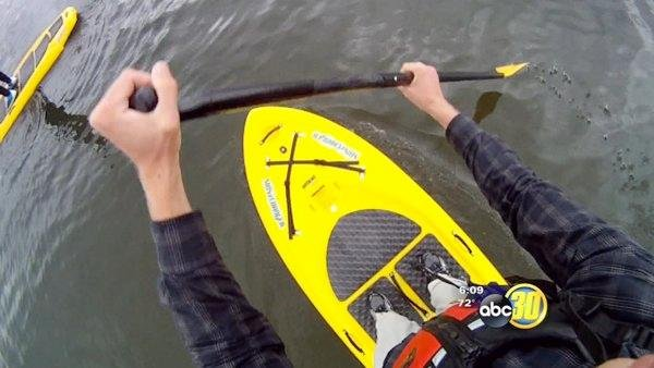 Stand-up paddling is catching on in the Valley