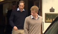 William And Harry Visit Philip In Hospital