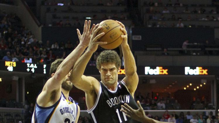 NBA: Brooklyn Nets at Memphis Grizzlies
