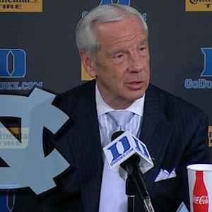 North Carolina's Roy Williams Discusses Jabari Parker's Career Night