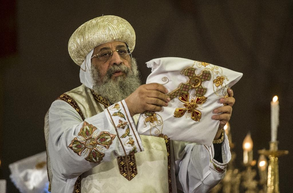 Egypt's Coptic pope in rare visit to Jerusalem