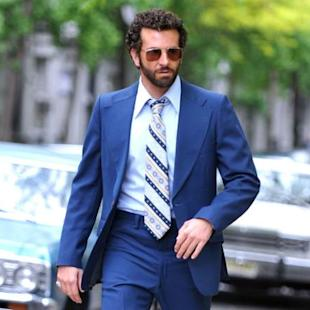 Bradley Cooper is seen filming 'American Hustle' on May 18, 2013 in New York City -- Getty Images