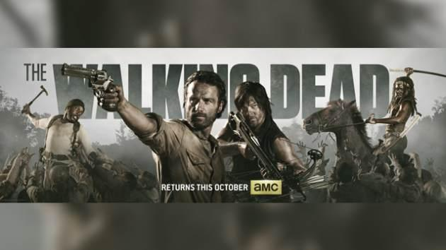 'The Walking Dead' Comic-Con 2013 banner -- AMC
