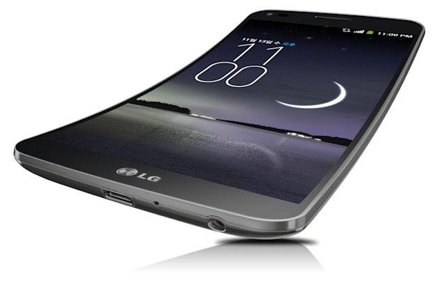 LG gets curvy with new G Flex